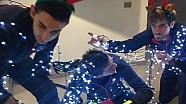 Toro Rosso doet Mannequin Challenge in kerststijl