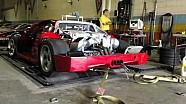 Sonido del Ferrari F40 en el Banco de pruebas
