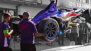 DS Virgin Car Rebuild - Formula E