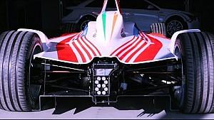 Inside Mahindra Formula E team's testing garage