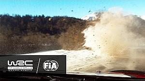 Rallye Monte-Carlo 2017: Kris Meeke Crash on SS4