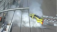 Final lap Las Vegas NASCAR race, Matt Kenseth wins!