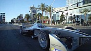 Formula E car - Driving the Las Vegas Strip
