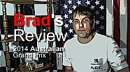 Brad's Review - 2014 Australian GP - Sauber F1 Team