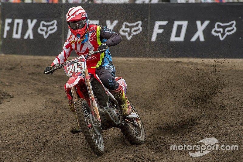 Motorcrosser Tim Gajser mist GP van Frankrijk