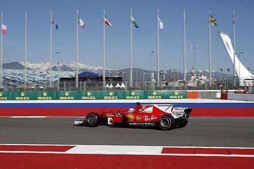 GP Rusia: Vettel kembali jadi yang tercepat, Ferrari 1-2 di FP3
