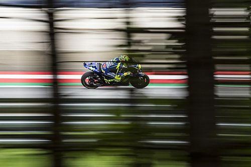 La Yamaha ha provato il primo prototipo della moto 2018 a Misano