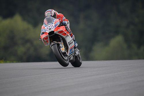 Dovizioso zet de toon in tweede training GP Oostenrijk