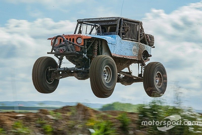 Bailey Cole took the victory on 2017 Ultra4 Europe Round 1 - Day 3