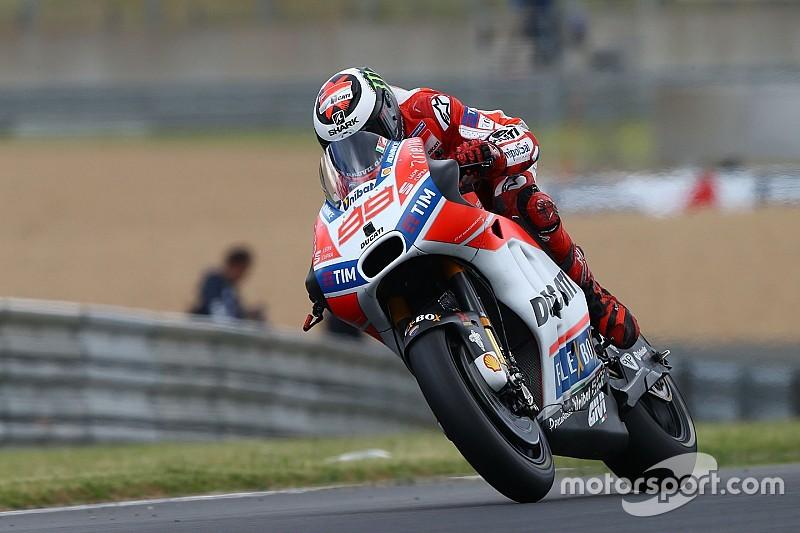 """Lorenzo: """"Ha sido mi carrera más constante con Ducati"""""""