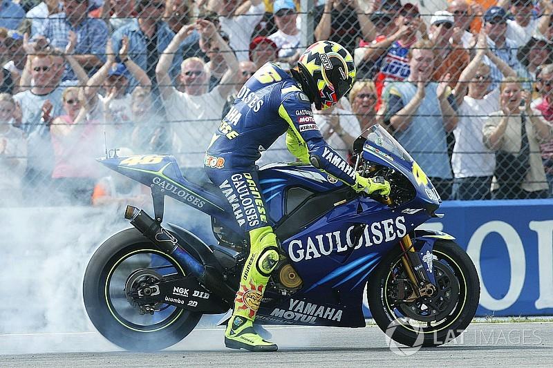 La carrera de Valentino Rossi en imágenes