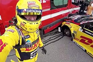 WTCC News WTCC-Unfall von Tom Coronel in Vila Real mit Aufprall bei 25 g