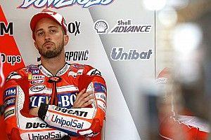 Dovizioso tuding Petrucci penyebab kecelakaannya