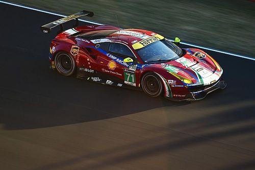 Vilander vervangt Bird bij Ferrari tijdens WEC Nürburgring