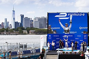 Formula E Gara NYC: Sam Bird mette le ali, Lucas Di Grassi limita i danni