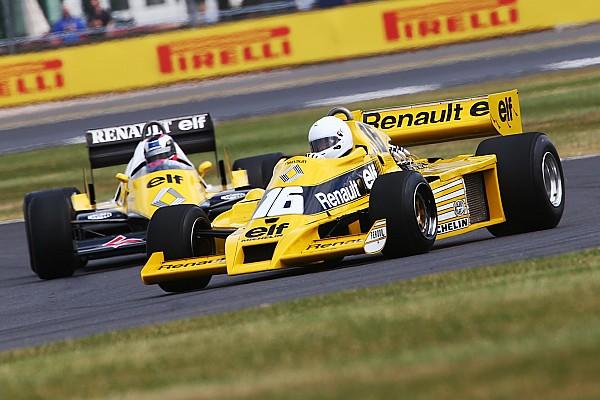 Renault celebra 40 años de Fórmula 1 en Silverstone