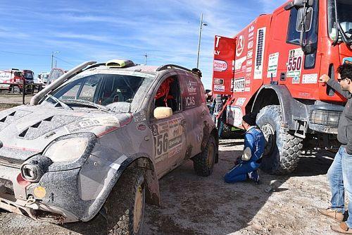 Dakar: la Panda oggi può essere scortata dal camion di assistenza