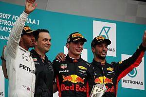 F1 Reporte de la carrera Verstappen gana en Malasia con remontada de Vettel