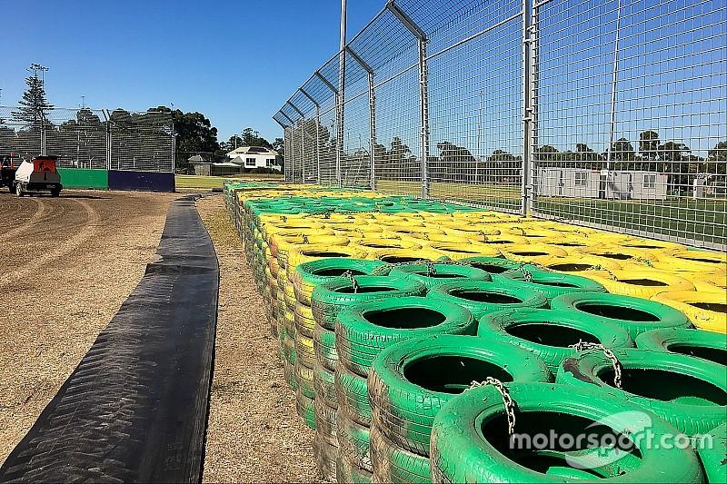 En images: La sécurité renforcée du GP d'Australie