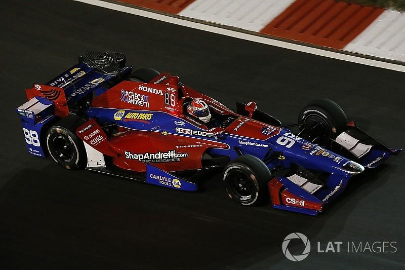 Andretti IndyCar team sticks with Honda engines