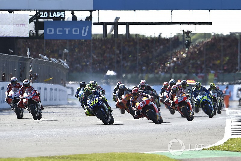 Silverstone ha rinnovato con la MotoGP per le prossime tre stagioni