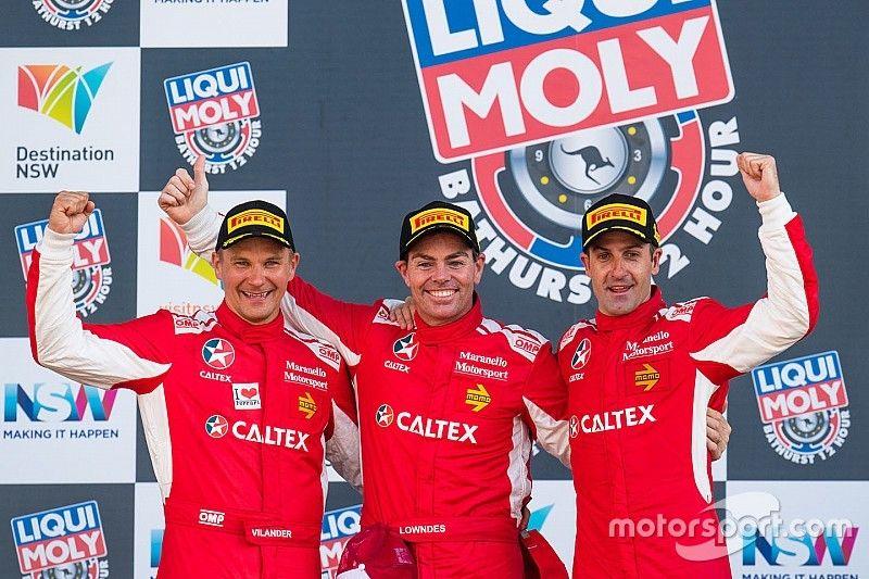 Bathurst 12 Hour: Ferrari wins, van Gisbergen crashes