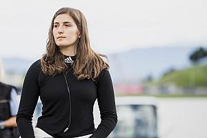 Formel 1 News Tatiana Calderon steigt 2018 zur Testpilotin bei Sauber auf