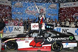 NASCAR XFINITY Crónica de Carrera Alex Bowman logra en Charlotte su primera victoria en Xfinity