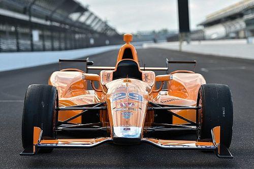 Fotogallery: la livrea della Dallara-Honda di Alonso per Indianapolis