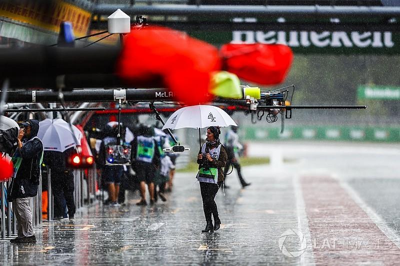 意大利大奖赛FP3:大雨侵袭,马萨雨地最快