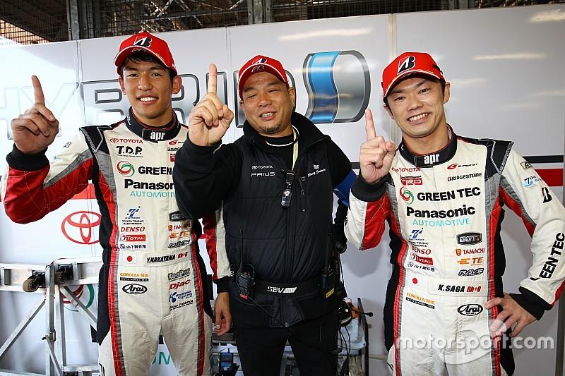 【スーパーGT】中山「昨日のマシントラブルを乗り越えた。ポールポジションが嬉しい」