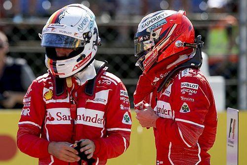 """Räikkönen ne voulait """"pas faire le forcing"""""""