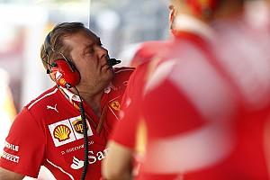 F1 Noticias de última hora El ingeniero de pista de Kimi Raikkonen deja Ferrari