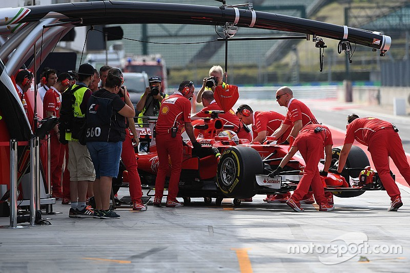 Test Hungaroring, Day 2, ore 11: Vettel migliora, in evidenza Norris