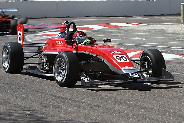 USF2000 Toronto USF2000: Thompson completes victorious double in homeland