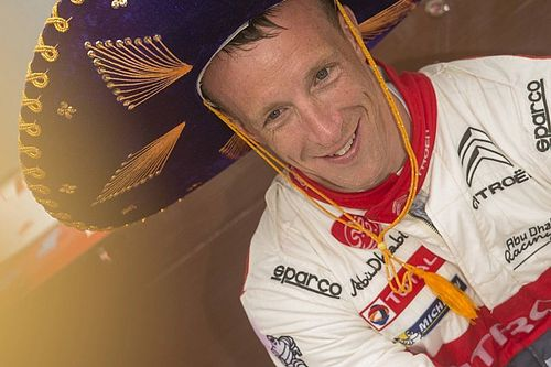 "Meeke was in ""hands of the Gods"" in car park excursion"