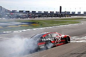 """Truex on Vegas victory: """"I'm not sure we expected to win this soon"""""""