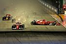 Nincs büntetés a Verstappen-Vettel-Räikkönen ütközést követően