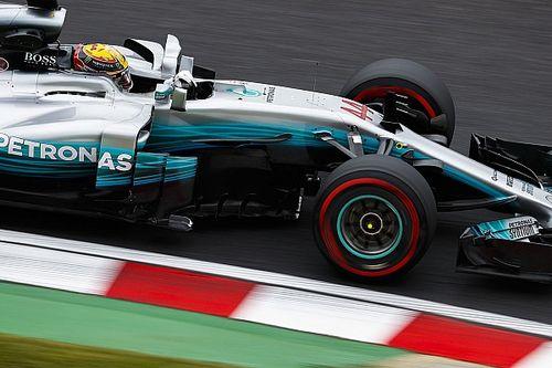 Hamilton opgelucht dat auto competitief aanvoelt