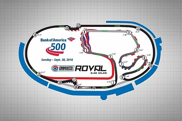 NASCAR Cup Noticias de última hora NASCAR espera que el Charlotte Roval permita un gran espectáculo