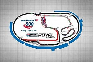 Goodyear to test three backstretch chicanes at Charlotte roval