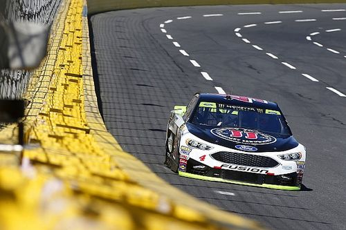 Harvick dominates Stage 2 at Charlotte, Kyle Busch crashes