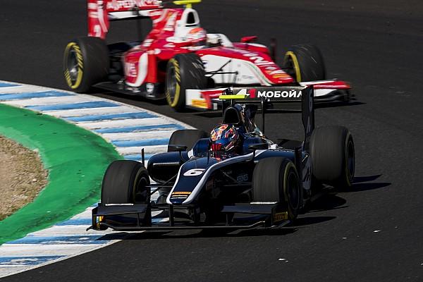 FIA F2 Репортаж з гонки Ф2 у Хересі: Маркелов виграв спринт