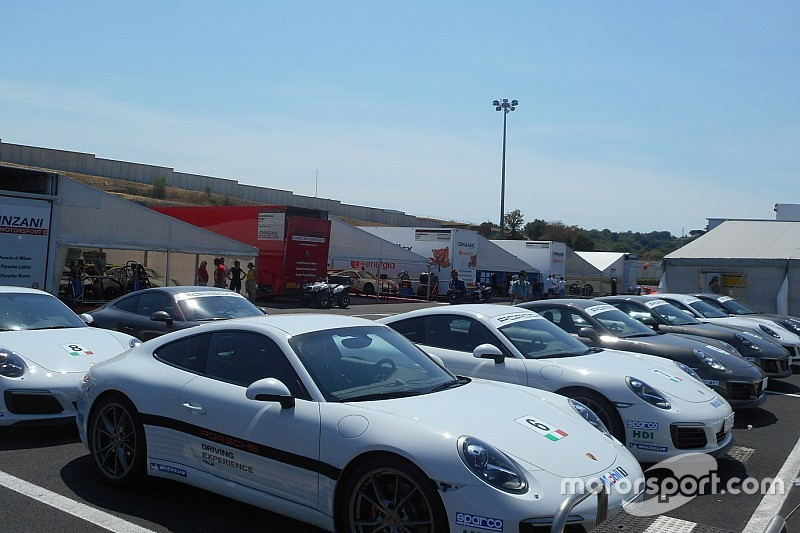 Carrera Cup Italia, Vallelunga: caldo, compleanni e... Valentina Albanese