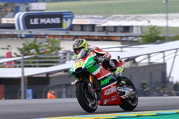 """MotoGP Aleix: """"En otro equipo podría pelear por el podio, pero no me arrepiento de firmar por Aprilia"""""""