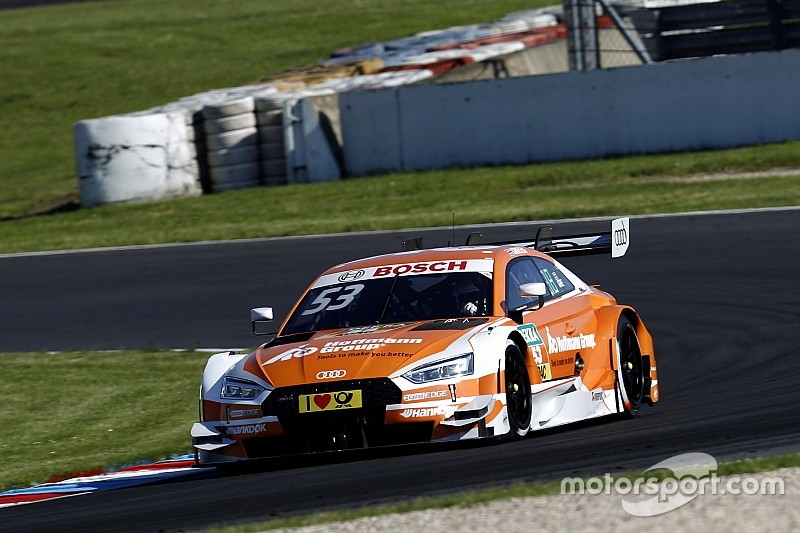 Грин одержал победу во второй гонке DTM на «Лаузицринге»