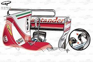 Analisi tecnica: sulla Ferrari tutte le modifiche hanno funzionato!
