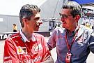 Formula 1 Novità Ferrari:  Albertini e Santi, solo promozioni interne al muretto box