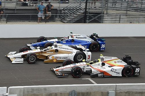 Rookie Jones believes he had the car to win Indy 500