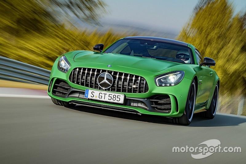 La Mercedes-AMG GT R s'illustre sur le Nürburgring
